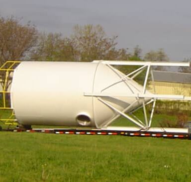 Hopper for a customer in Oklahoma