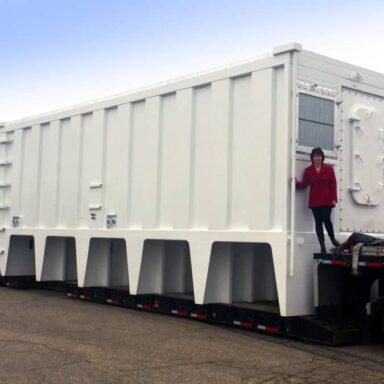 Nitrogen Air Separation System for Ocean Going Oil Tankers