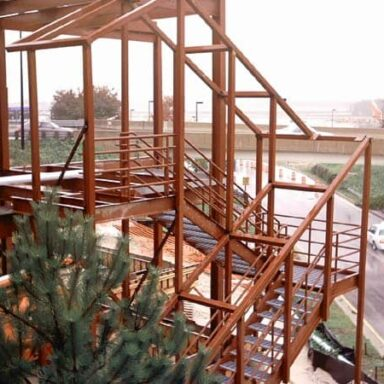 Stairwell & Platform