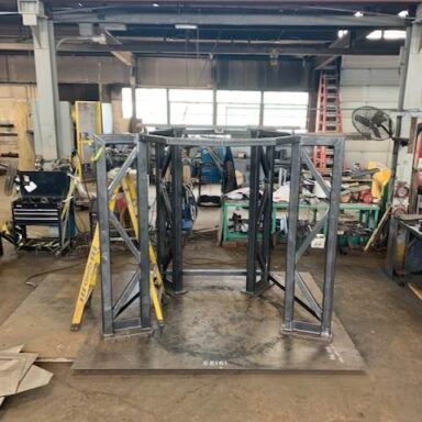 Tubular Steel Stand Frame