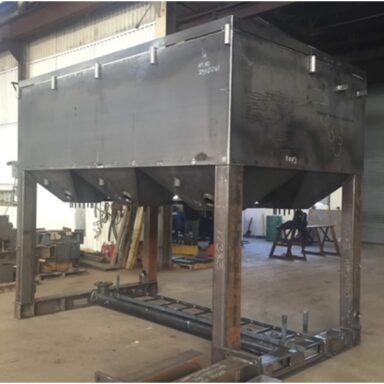 Steel Hopper for OEM Customer